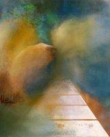 Alp Oil on canvas 98 x 98 x 4 cm