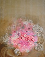 Just Flowers Oil on canvas 70 x 99 x 2.5 cm