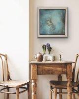 Peaceful 55 x 55 cm framed