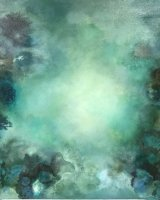 Sea Garden 70 x 100 Oil on Canvas
