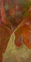 Terracotta Oil on canvas 76 x 152 x 4 cm
