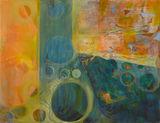 The Big Blue Oil on linen canvas 165x 195cm