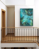 Under the Sea with Turquoise 76 x 101 cm