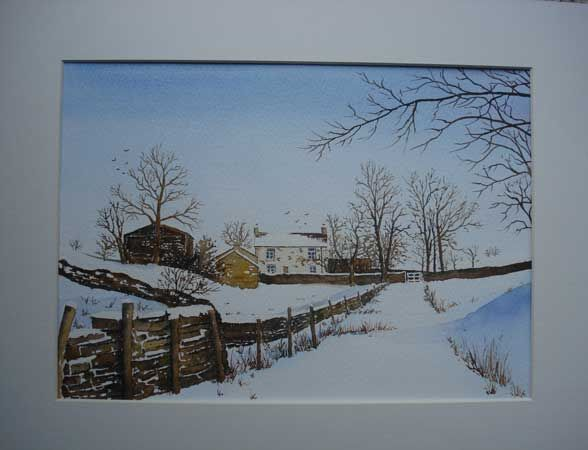 Dentdale in Winter