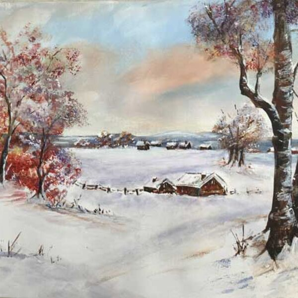 A Winters Day - after Tracey Krupianka