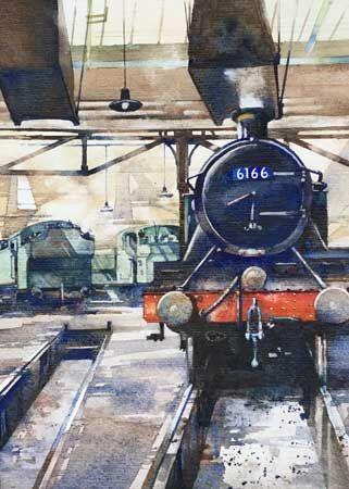 GWR Prairie Class Loco