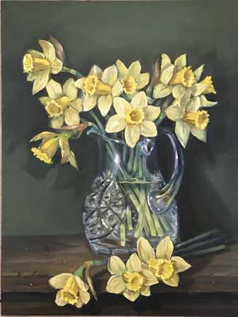 Daffodils - HIGHLY COMMENDED SPRING COMPETITION