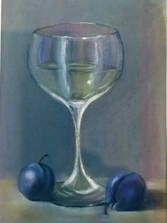 Wine with Plums