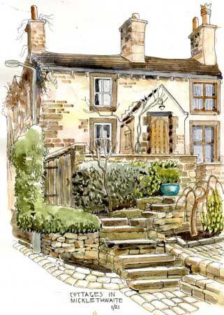Cottages at Micklethwaite