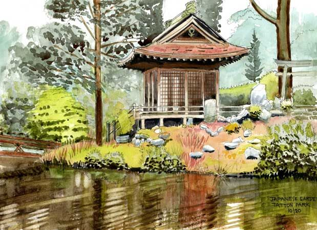 Japanese Garden at Tatton Park
