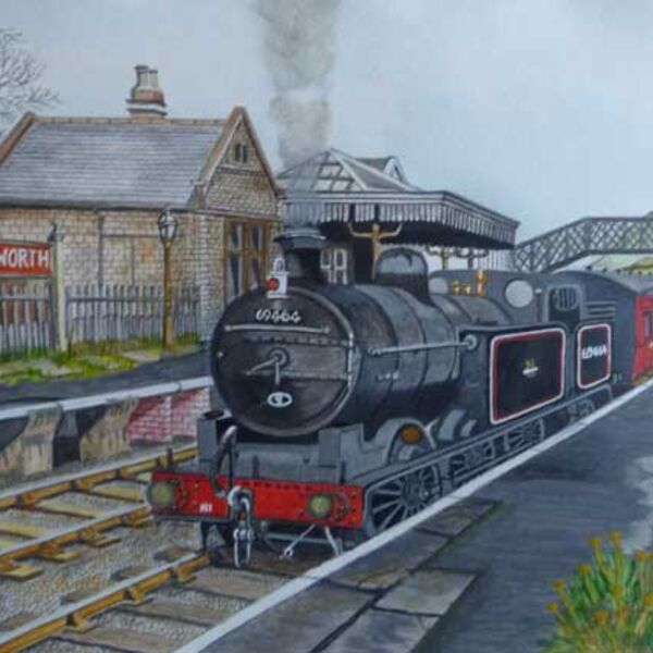 Cullingworth station 1955