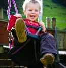 Louis on Swings