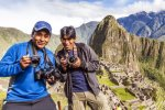 Alex and Kennedy at Machu Picchu