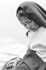 Girl on Taquile Island, Lake Titcaca