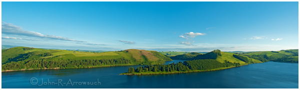 Llyn Clywedog reservoir