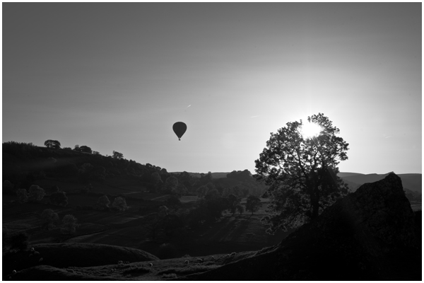 Pilsbury Hill and Balloon