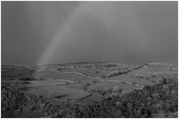 Black and White rainbow