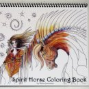 Spirit Horse Coloring Book
