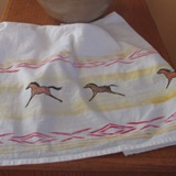 Pony Dish Towel Retro Run