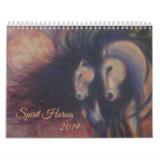 Spirit Horse calendar 2019