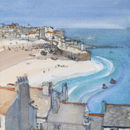 Hot day at St. Ives