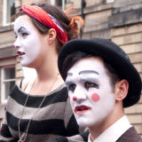 Artistes at the Edinburgh Festival