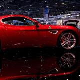 Car at London Motor Show