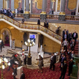 """Delegates at the """"British Business Embassy"""" created during the 2012 Olympics at Lancaster House, London"""