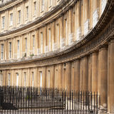 Elegant Royal Crescent, Bath