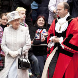 HM The Queen and the Mayor of Bromley, London