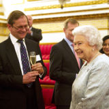 HM The Queen at Buckingham Palace