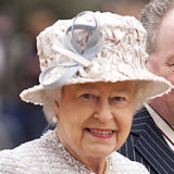HM The Queen on a Royal visit, Bromley, London