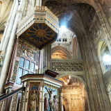 Beautiful interior of Canterbury Cathedral