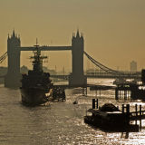Tower Bridge and the River Thames in the early morning