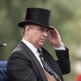 Prince Andrew, Duke of York, at a Royal event, London