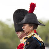 Princess Anne, the Princess Royal in full military regalia