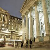 Royal Exchange & the Bank of England, London