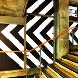 Shoreditch station becomes abstract art