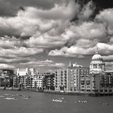 St Paul's Cathedral & the River Thames