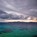 Swirling clouds, Mykonos