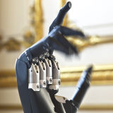 """Touch Bionics bionic hand on display at the """"British Business Embassy"""""""