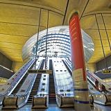 London Underground station at Canary Wharf