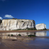 White cliffs at Broadstairs, Kent