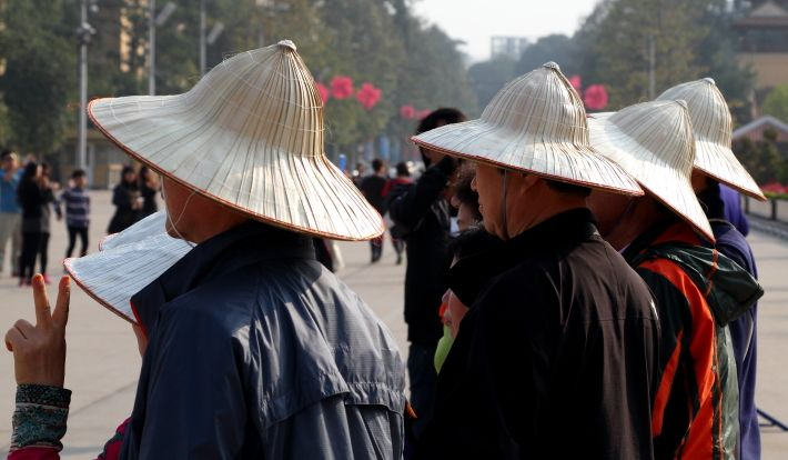 Chinese hats