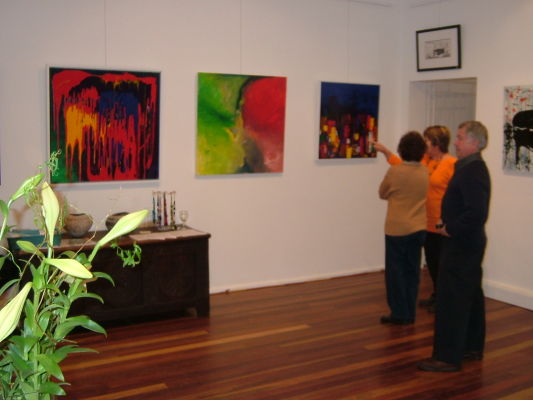 Opening Night - Gallery 307 - Abstract Series
