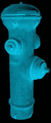 San Francisco Hydrant - Turquoise