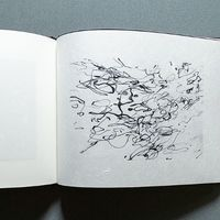 A Memory of Water:  Handcrafted Stab Bound Artist's Book.