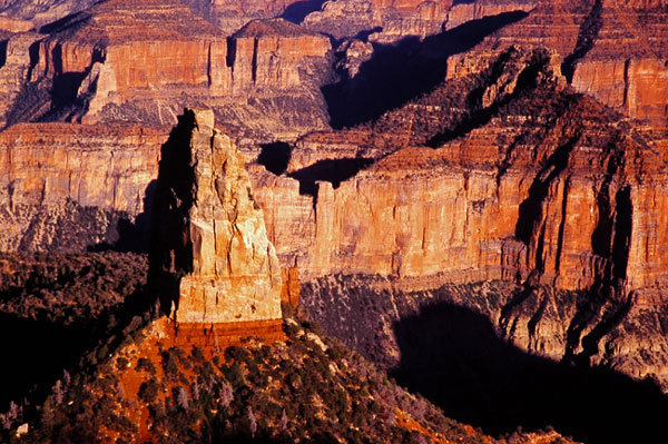 Le Mont Hayden - Grand Canyon NP, Arizona