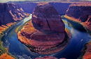 Horseshoe Bend, rivière Colorado - Page, Arizona