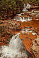 Bemis Brook Falls à l'automne
